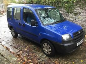 2006 WHEELCHAIR ACCESSIBLE FIAT DOBLO 1.3TD MULTIJET