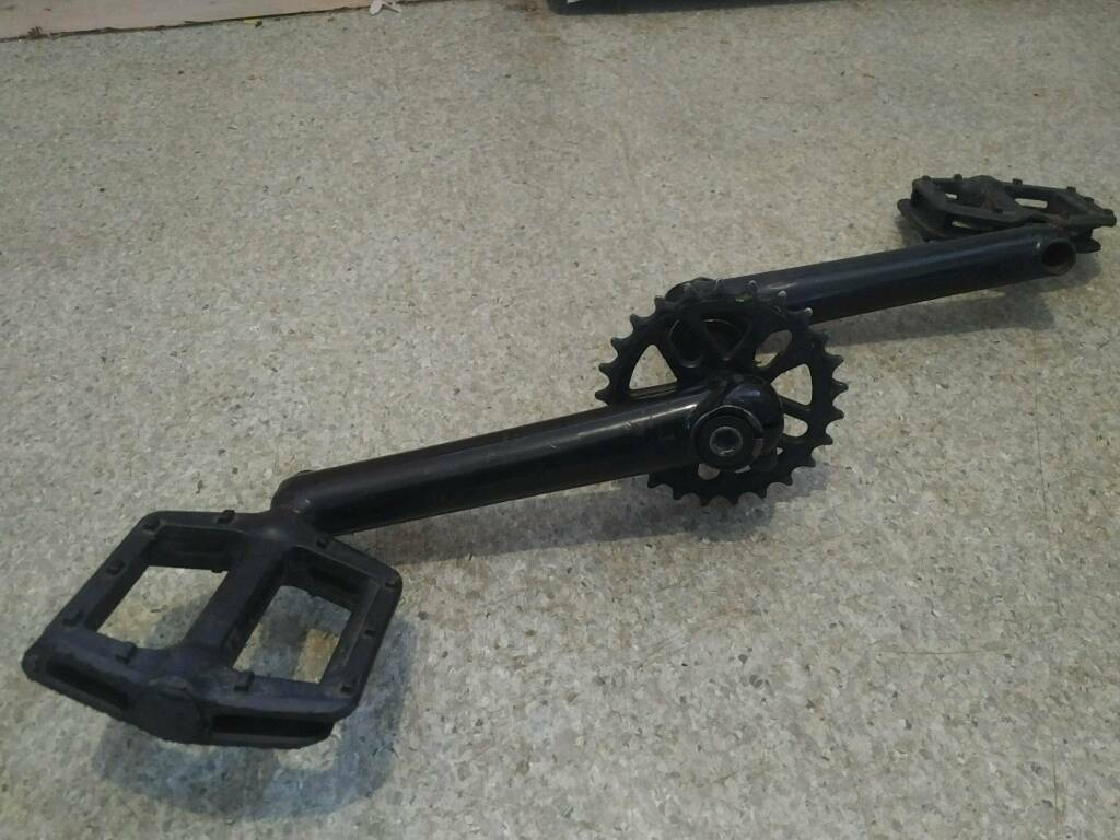 DH MTB 3pc BMX cranks 24 7 bikes