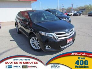 2013 Toyota Venza AWD | LEATHER | ROOF | HEATED SEATS