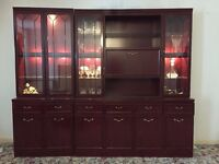 Display Cabinets for Dining and Living Room - Great Condition