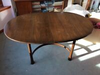 Ercol Mahogany extending Table and 6 chairs