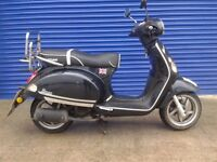 2013 BAOTIAN MONZA 50CC MOPED LONG MOT GOOD RUNNER BARGAIN £365