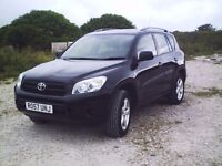 2007 '57' Toyota Rav-4 xt3 2.0 petrol 4x4 with tow bar, 2 owners, 2 remote keys, full history