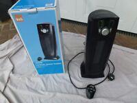 Heater, Ceramic Tower heater, 1800 or 900 watts heating, remote control, Oscillator