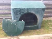Gas box shed