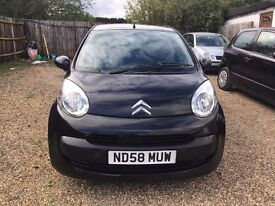 CITROEN C1 RHYTHM 1.0 5DR 2008 * IDEAL FIRST CAR * CHEAP INSURANCE AND £20 ROAD TAX * HPI CLEAR