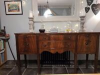 Reprodux Bevan Funnell Flame Mahogany Sideboard