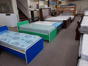 BEDS, BEDS, BEDS.Large selection head foot rails, bunks, Mattresses and foundations.