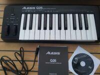 Alesis Q25 MIDI Controller Keyboard. BRAND NEW UNOPENED