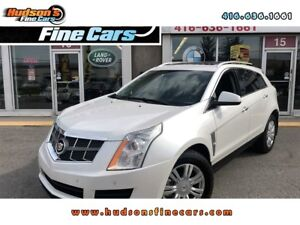 2011 Cadillac SRX Luxury+LEATHER+PANO ROOF+ALL POWER CERTIFIED