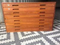 Plan chest / map drawers small