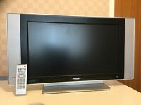 "FREE Philips 23"" Widescreen HD Ready LCD TV ** SOME ISSUES - READ DESCRIPTION"
