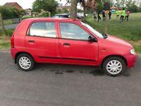 Suzuki Alto 2006 12 months MOT. CHEAP AND £30 Road Tax
