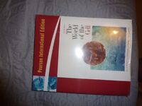 the world of the cell - BNWT - 7th edition