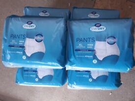 boots staydry XL pants pack of 10 x6 bundle