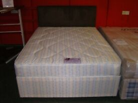 King Size Bed. Brand New in Factory Wrapping. Candy Orthopaedic Divan Bed. Base & Mattress