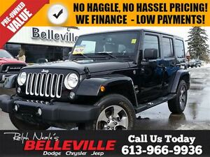 2016 Jeep WRANGLER UNLIMITED Sahara-Navigation-Bluetooth