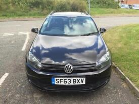 VOLKSWAGEN GOLF 1.6 TDI 105 BlueMotion Tech SE (black) 2013