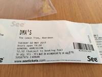 DMA Concert Tickets