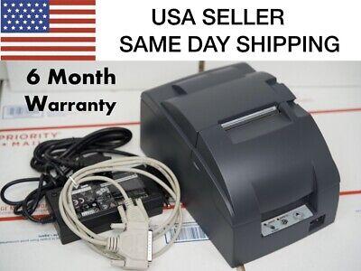 Epson Tm-u220b Receipt Printer Com Interface 180 Day Warranty Same Day Shipp