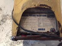 Propane space heaters