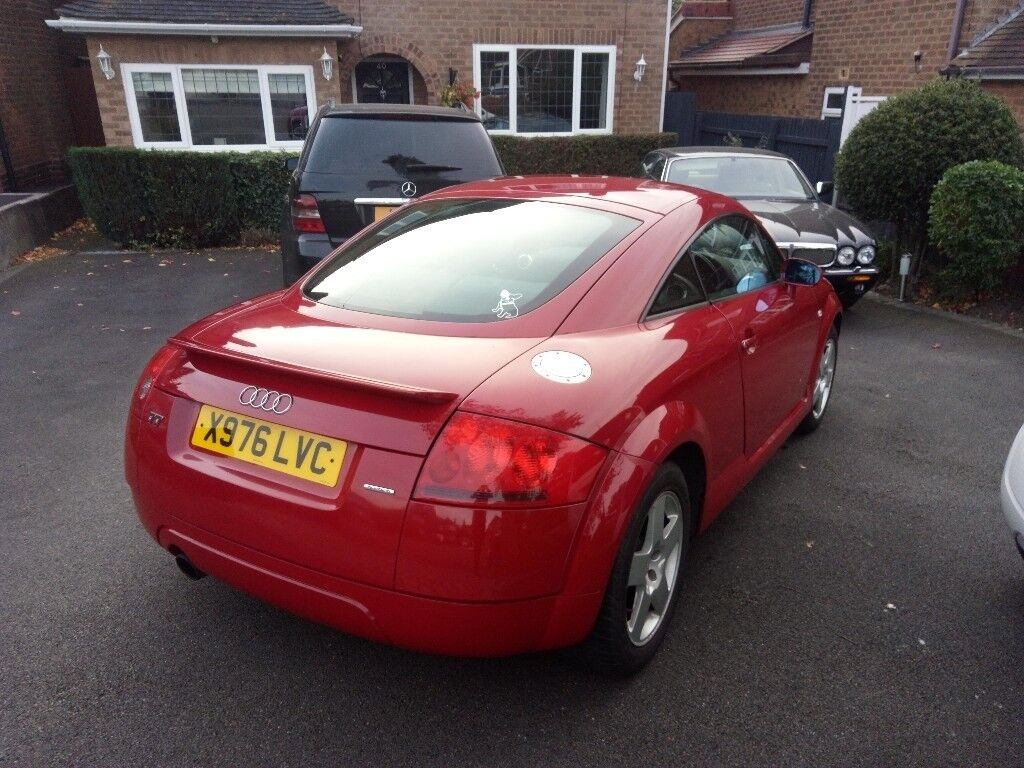 audi tt coupe 180 quattro 1 8t in amulet red 2000 x reg in sutton coldfield west midlands. Black Bedroom Furniture Sets. Home Design Ideas