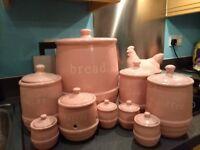 Mason Cash kitchenware baby pink