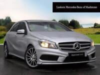 Mercedes-Benz A Class A180 CDI BLUEEFFICIENCY AMG SPORT (silver) 2014-05-30