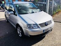 VW TOURAN 1.9 DIESEL MANUAL TDI 7 SEATERS SILVER 2005 2 OWNERS FULL HISTORY