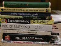 FREE Assorted books (Mackintosh, RSPB membership guide, Ruling Britannia and others)