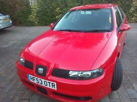Seat Leon TDI Cupra 1.9 PD 150 BHP-Beautiful Condition-VW Golf TDI-Audi A3