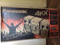 Panasonic Hi-Fi jukebox multimedia Bluetooth music system