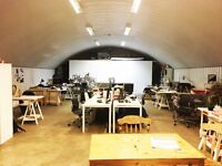 CREATIVE DESK SPACE – HAGGERSTON. Available NOW!