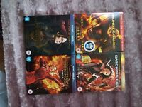 Hunger Games Complete film collection Blue ray