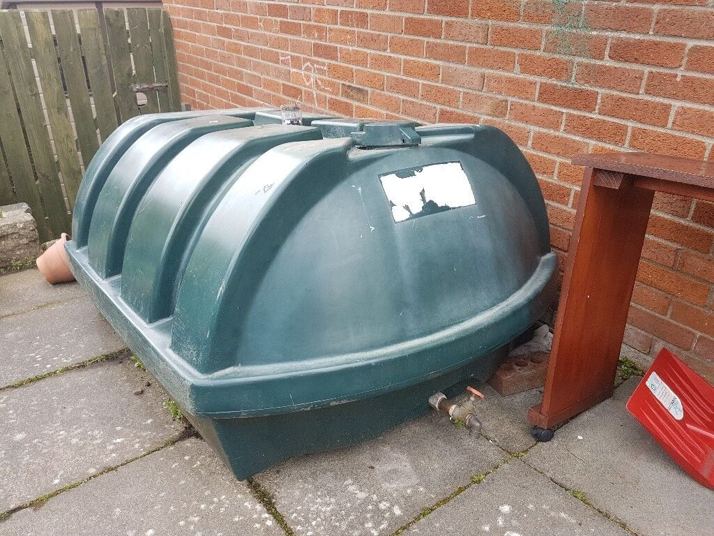 OIL TANK 900L FOR CENTRAL HEATING PLASTIC WITH TAP   in County ...