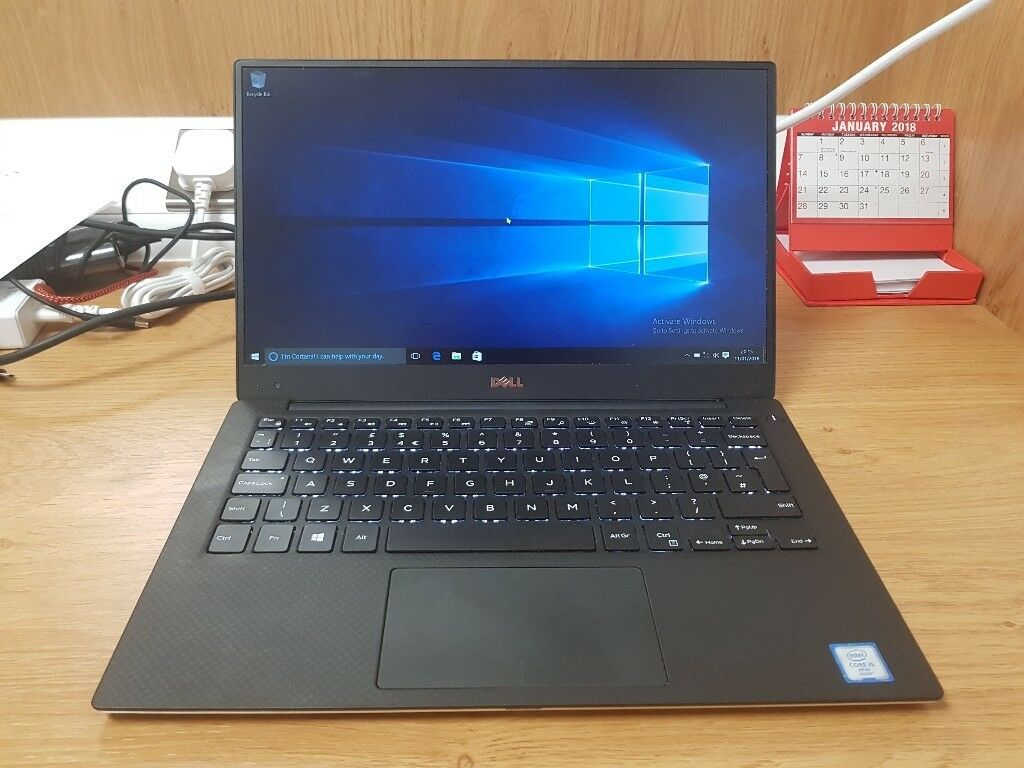 "ULTRABOOK DELL XPS 13.3"" 9350 - I5 6300u 6th GEN - 8 GB - 256 SSD - WARRANTY !!!"