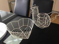 Fruit & egg basket