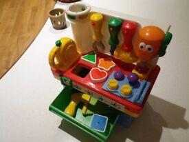 Kiddieland musical toolbox