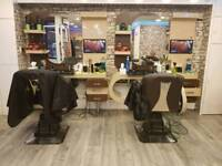 4 Barber Units For Sale (With Chairs)