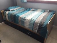 Single Bed with Mattress for Free