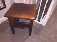 SIDE TABLE IN BROWN COLOUR