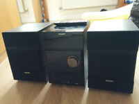 used Philips DCM377 hi-fi stereo system