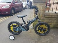 Batman Kids Bicycle with Stabilizers