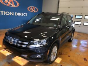 2016 Volkswagen Tiguan Comfortline AWD! HEATED SEATS! FINANCE...