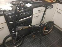 B-twin power inside electric folding bike