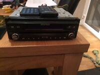 Rip speed car CD player /dvd player with screen built in