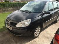Renault Grand Scenic Authentique 1.6 16v 07 7 seater black car