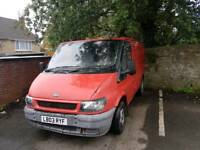 URGENT need an off road parking spot for a van!