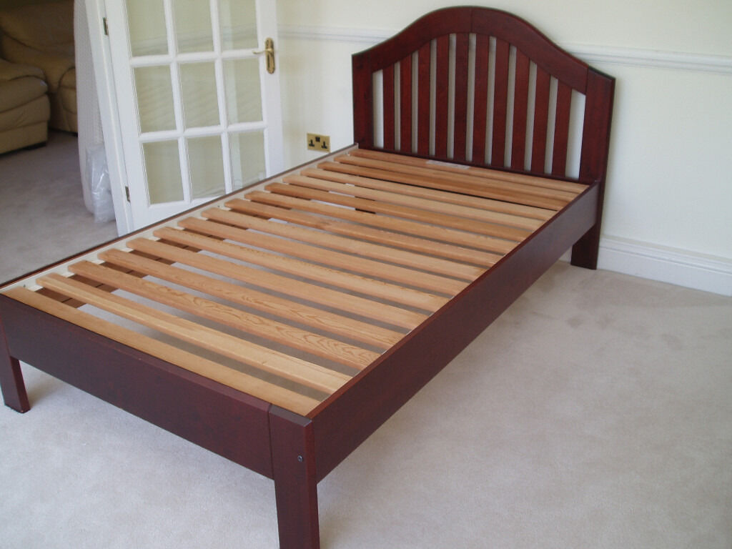 Ikea Small Double Bed Frame For Four Foot Mattress In Horsham