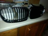 bmw 1 series coupe kidney grills genuine new